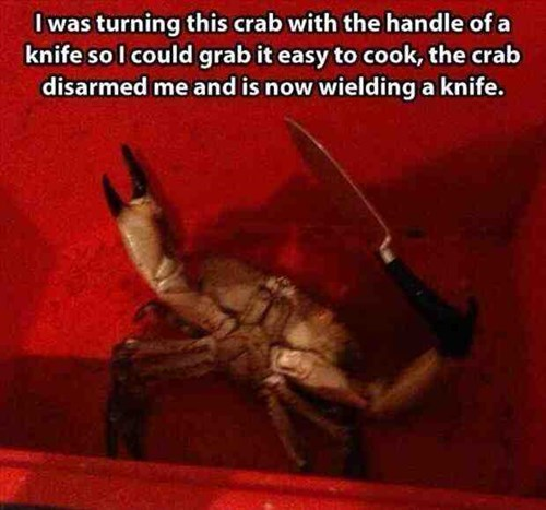 scary knife crab fail nation g rated - 8139946752