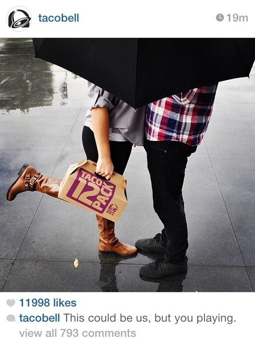 taco bell this could be us instagram food - 8139954688