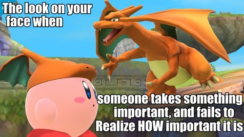 kirby super smash bros charizard - 8140084736