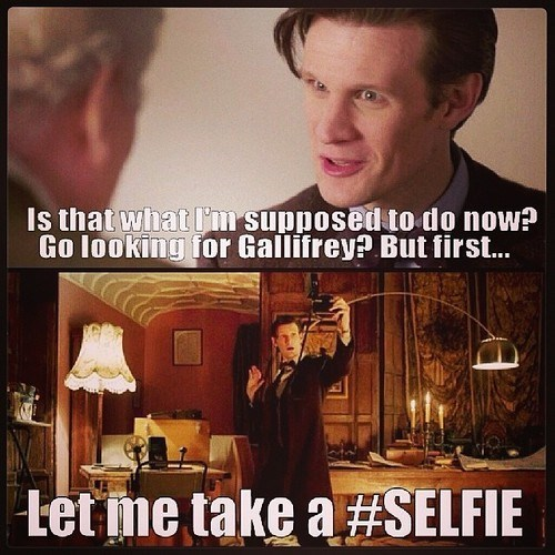 selfie,gallifrey,11th Doctor
