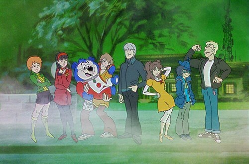 Fan Art,scooby doo,mashups,persona 4