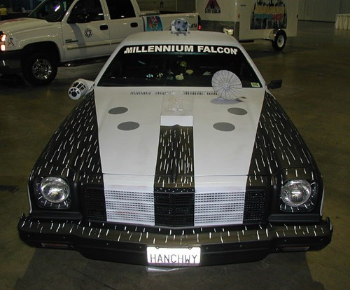 cars,DIY,star wars,nerdgasm,paint job,millennium falcon