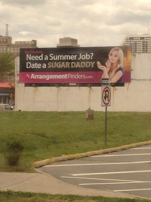 advertisement,really,sugar daddy,sign