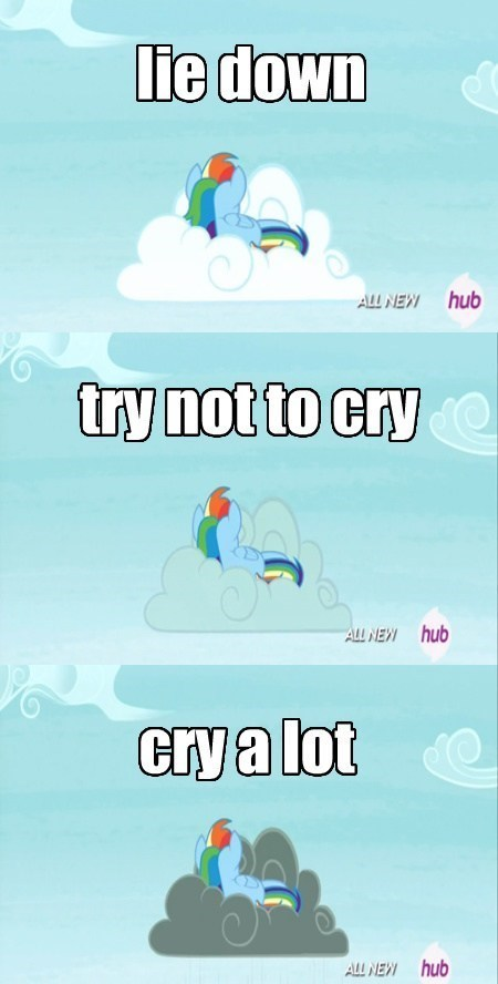 try not to cry weather rainbow dash - 8140853504
