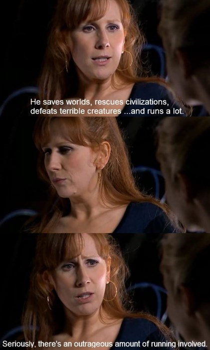 donna noble,companion,run