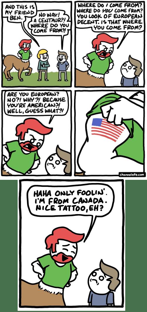 america,centaurs,usa,web comics