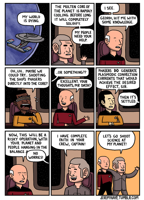 science Star Trek web comics - 8140966912