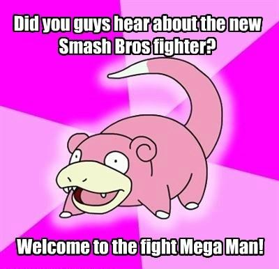 Memes,super smash bros,slowpoke