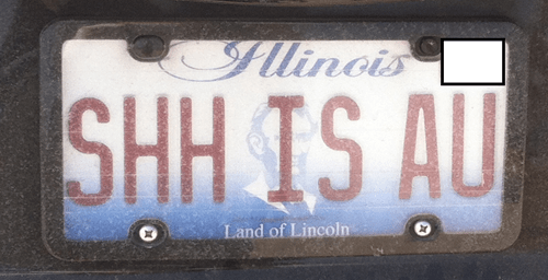 periodic table Chemistry license plate g rated School of FAIL - 8141157632