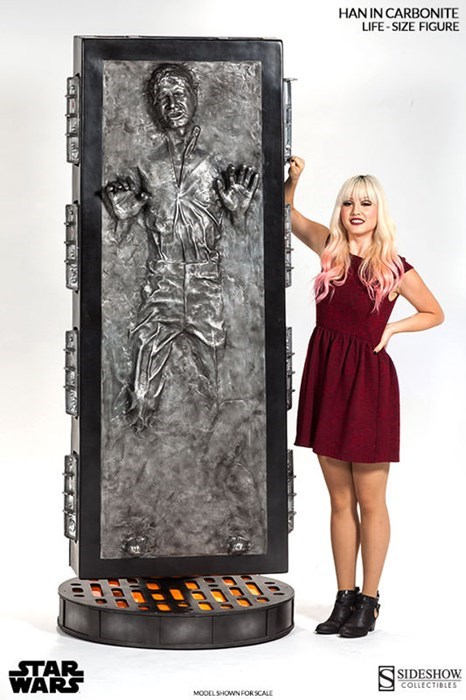 star wars carbonite nerdgasm Han Solo g rated win - 8141167360