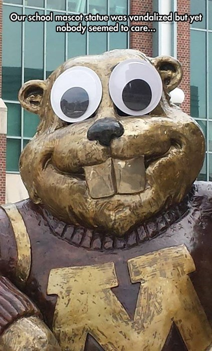 mascot school prank g rated - 8141175552