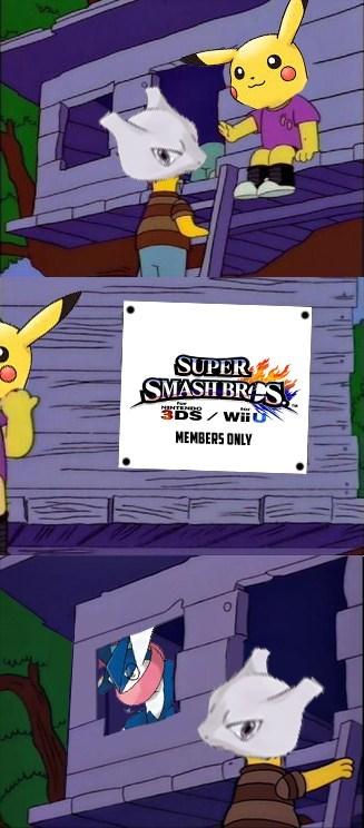 mewtwo Pokémon super smash bros - 8141665792