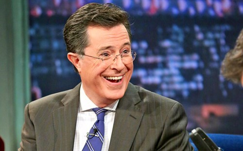 news stephen colbert late show cbs David Letterman - 8141992704