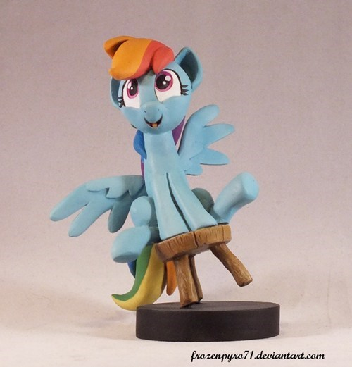 rocks Fan Art rainbow dash - 8142168832