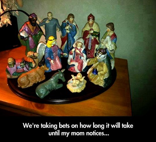 jesus dr-evil Nativity austin powers - 8142175744