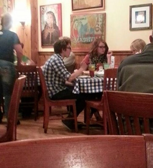 poorly dressed,gingham,matching,tablecloth,g rated