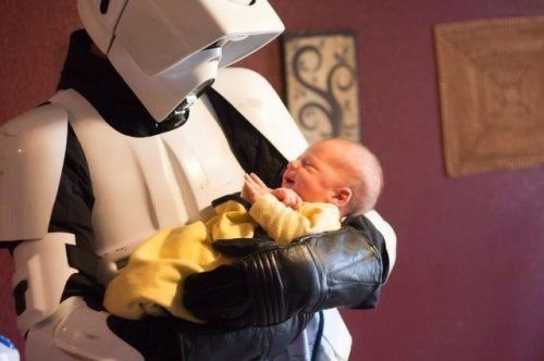 baby star wars stormtrooper parenting