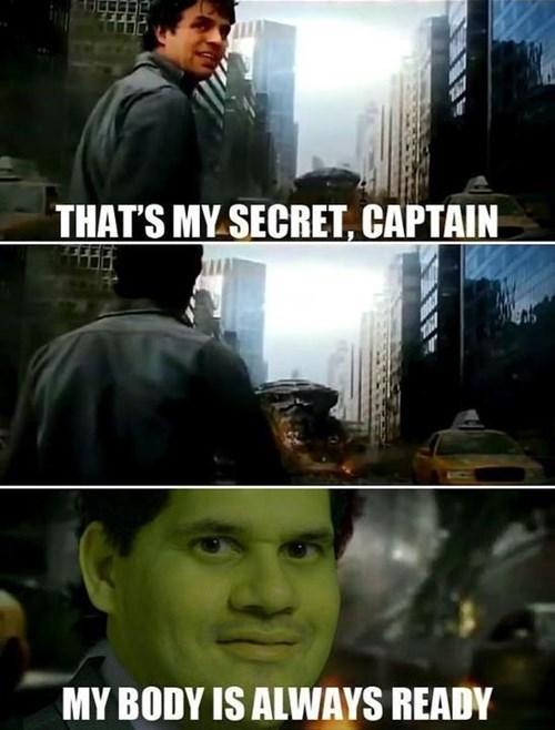 the hulk my body is ready The Avengers reggie fils-aime - 8142308608