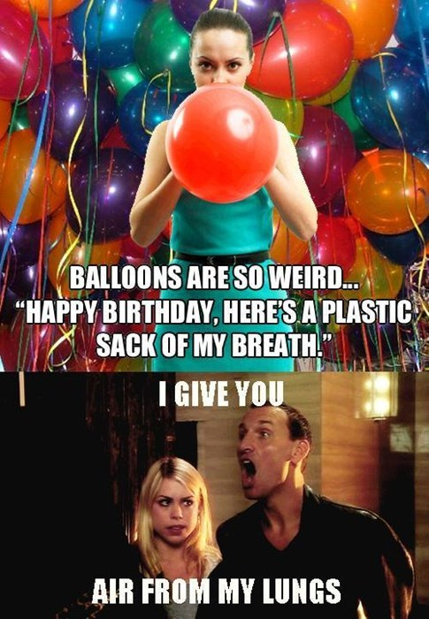 Balloons 9th doctor gift - 8142399232