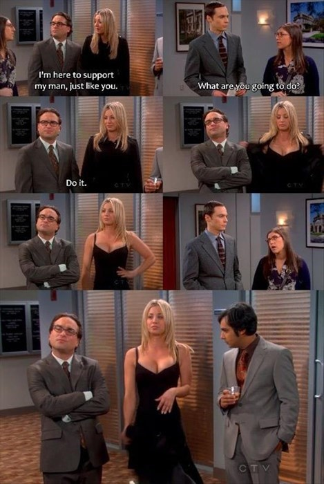 boobies,big bang theory