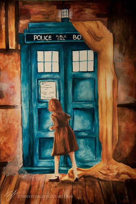 cs lewis doctor who Fan Art narnia - 8142413824