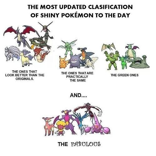 Pokémon,shinies