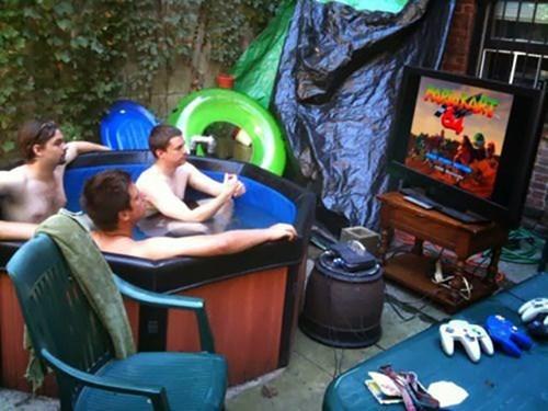 hot tubs,mario kart 64,Mario Kart