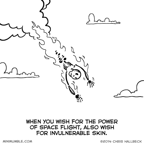 super powers,wishes,web comics