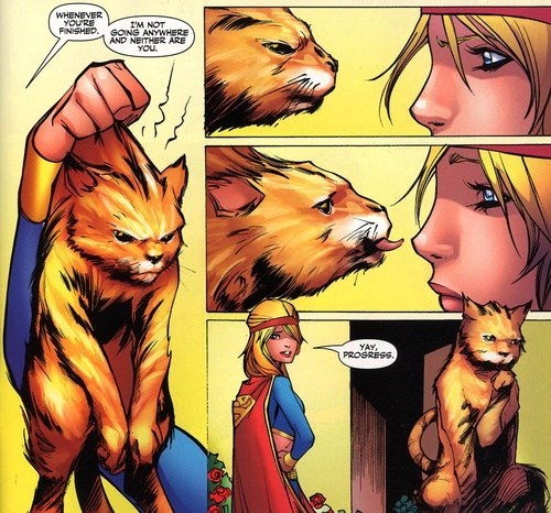 Straight off the Page supergirl Cats - 8142488064