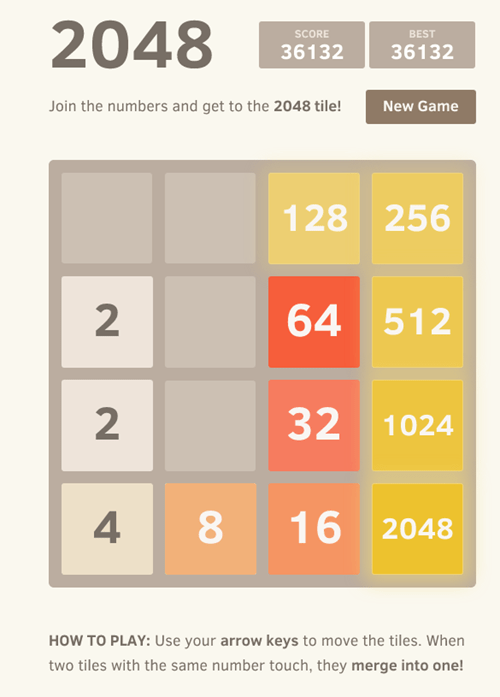 2048 gaming satisfaction - 8142504960