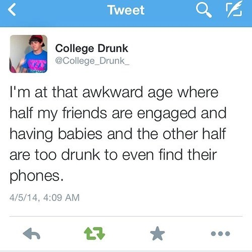 drinking,twitter,college,true facts,failbook