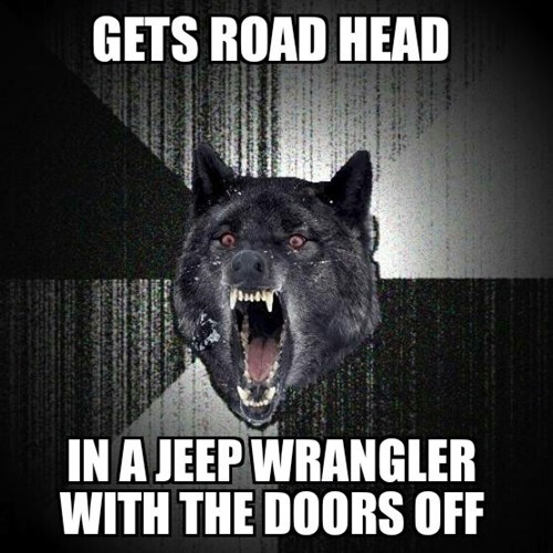 Insanity Wolf,road head,that's brave