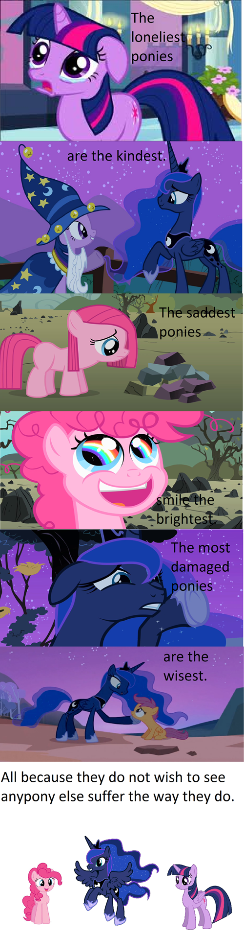 princess luna,pinkie pie,twilight sparkle