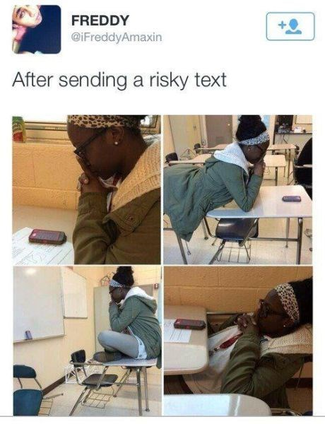 twitter texting risky - 8142692096