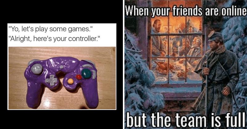 Funny gaming memes.