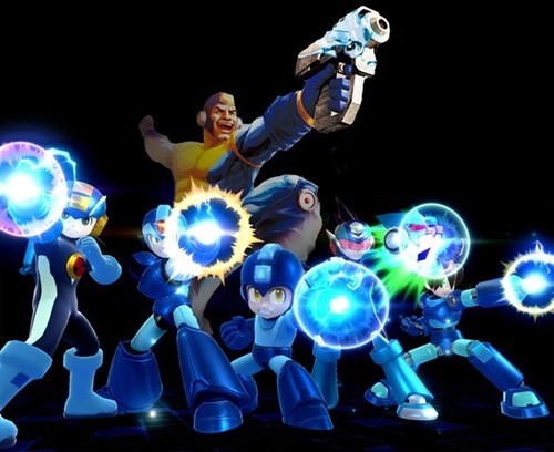 super smash bros,mega man,capcom