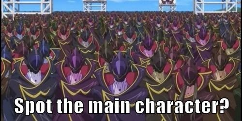 anime code geass main characters - 8143262208