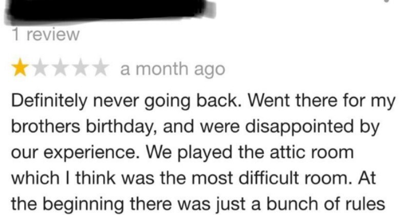 reviews quit your bullshit customer service called out escape room win - 8143365