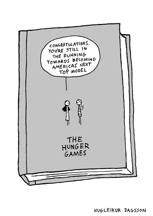 books hunger games sad but true web comics - 8143445248
