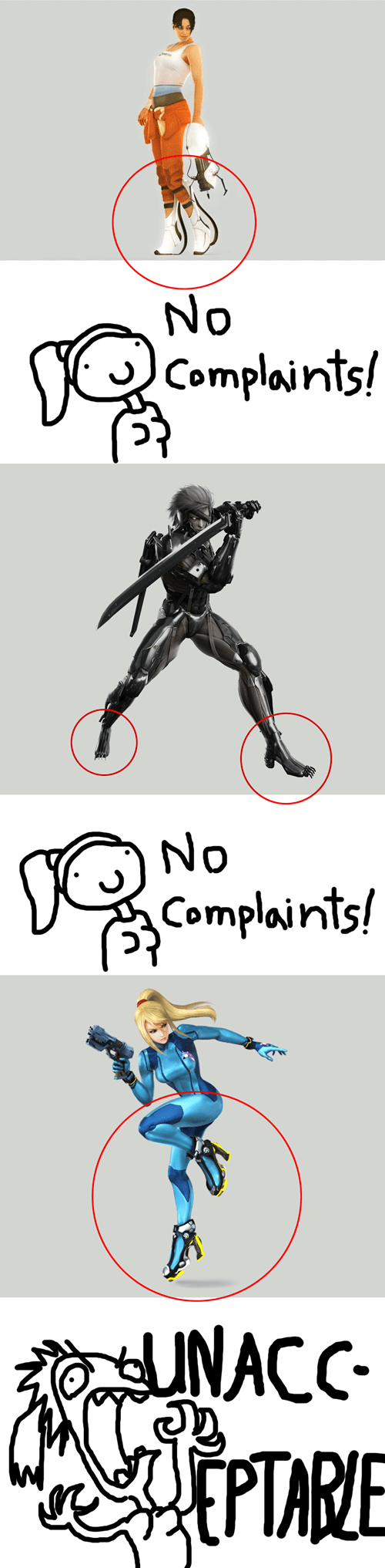 complaints,high heeled