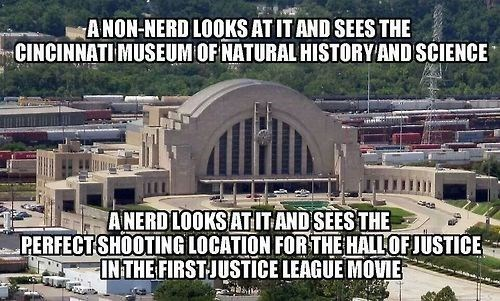 nerds,justice league,museum