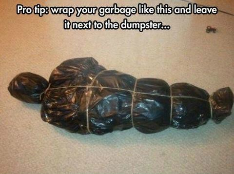 wtf creepy garbage - 8143630592