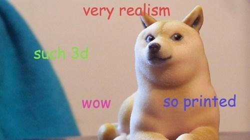 3d printers,3D printing,doge