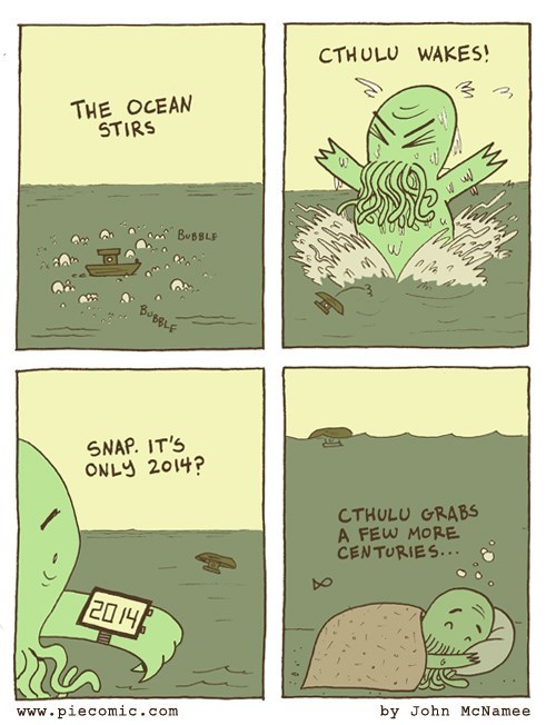 cthulu time web comics - 8143666688