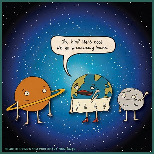 earth friends moon web comics - 8143754496