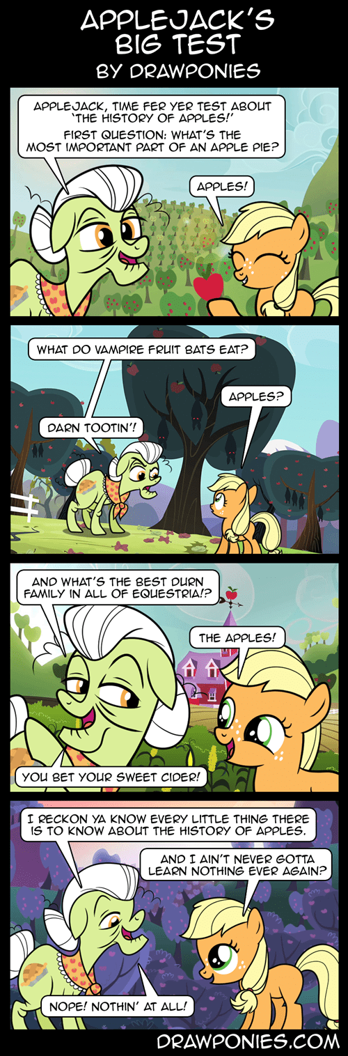 applejack,granny smith,apples