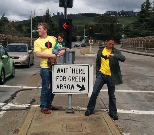green arrow,superheroes,puns,sign,g rated,win