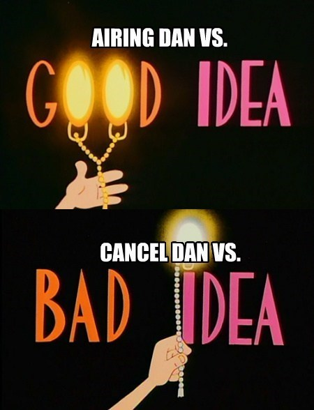 cartoons,dan vs