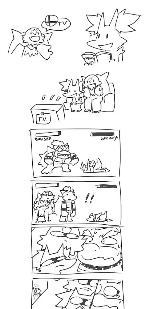Pokémon bowser video games web comics - 8144656640