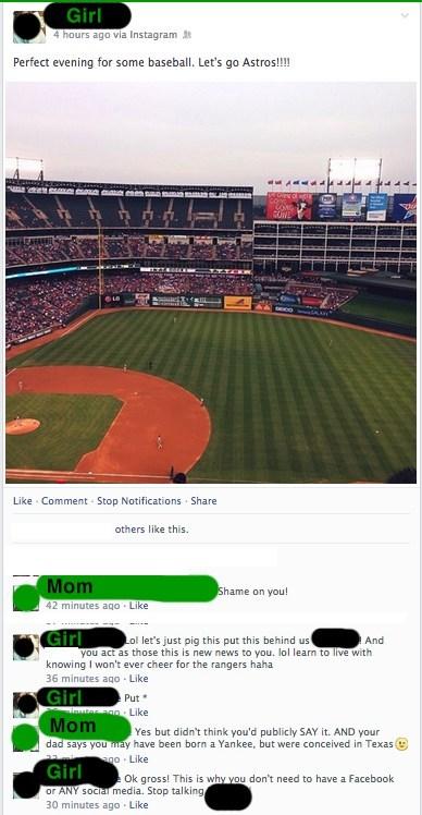 baseball,Oversharing,parentbook